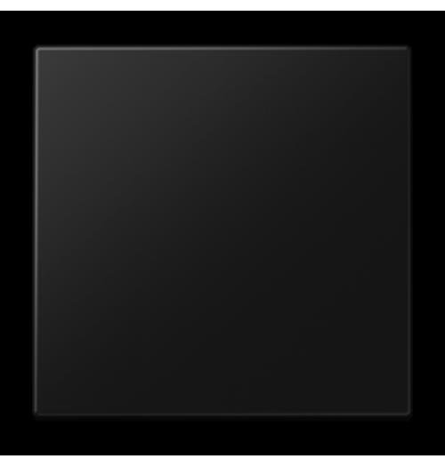 Apdaila 1 klavišo matinės juodos sp. LS990SWM