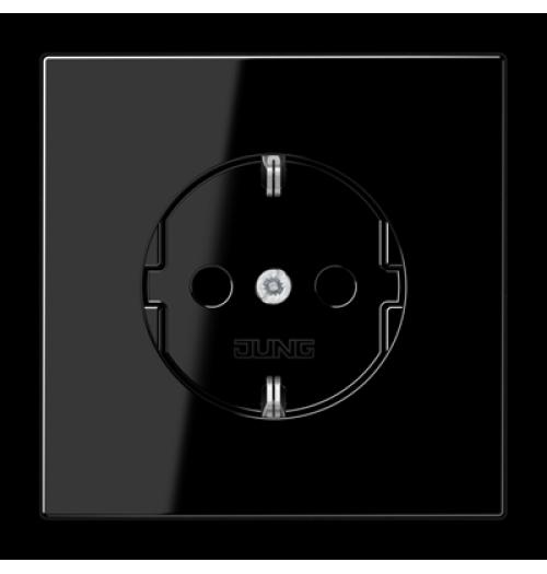 Kištukinis lizdas su įž. juodos sp. LS1520SW