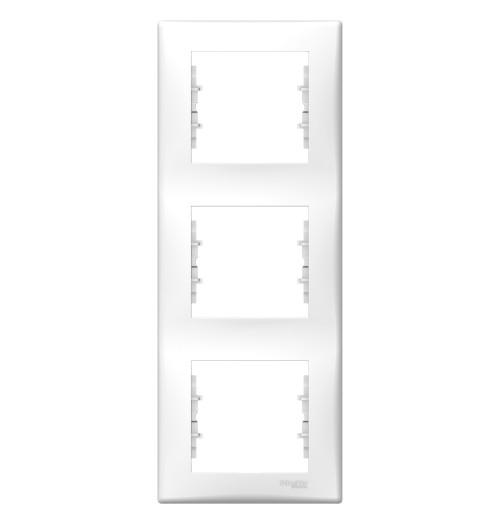 Rėmelis 3 v. vertikalus Schneider Sedna baltas SDN5801421