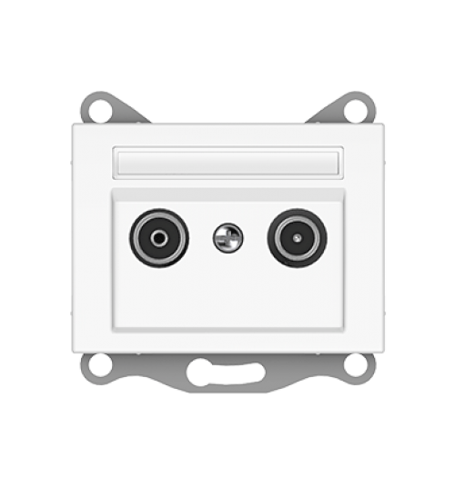 Antenos lizdas (TV+R tarpinis, -8dB) TVL02-8-02 XP500 WW
