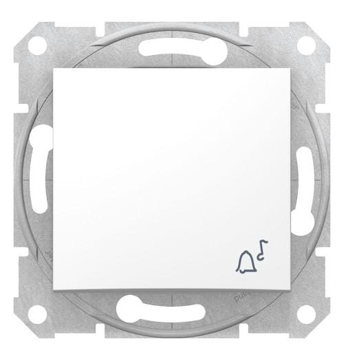 Skambučio mygtukas Schneider Sedna baltas SDN0800121