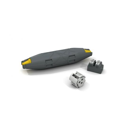 Gelinė jungtis ETELEC LEDJOY (3x0.5-1.5mm², su gnybtynu)