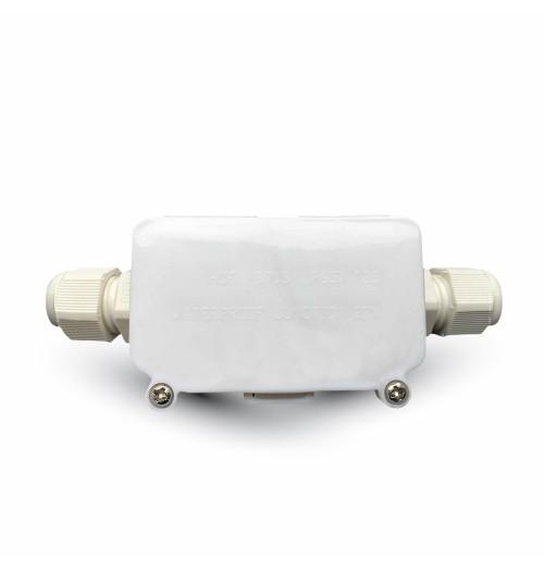 Jungtis maitinimo kabeliui balta (PG9 sandarikliai)