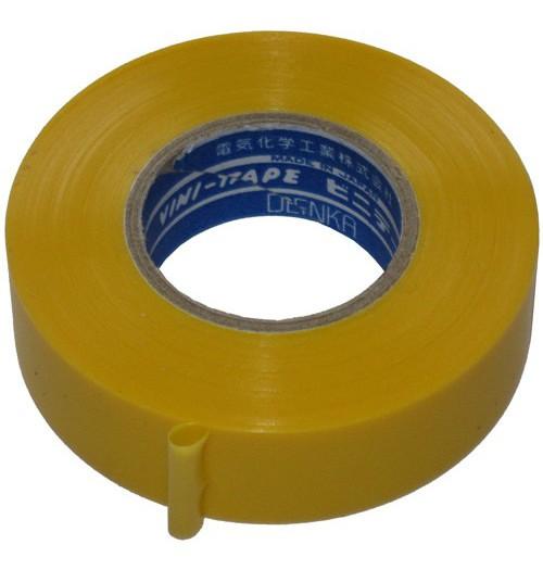 Izoliacinė juosta VINI-TAPE 0.13mm 19mm×20m geltona