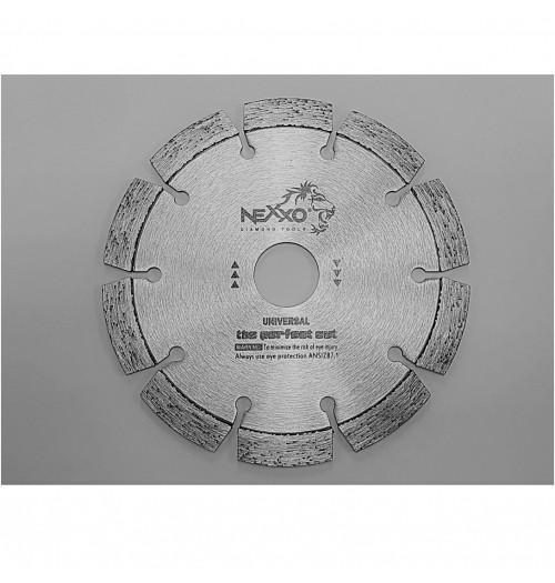 Deimantinis betono pjovimo diskas NEXXO 125x2.0x22.23