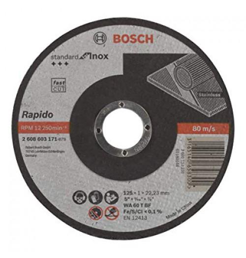 Abrazyvinis metalo pjovimo diskas BOSCH RAPIDO 125x1.0x22.23