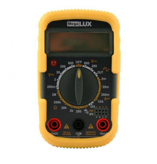 Multimetras MegaLUX M2830 su grandinės tęstinumo tikrinimo funkcija