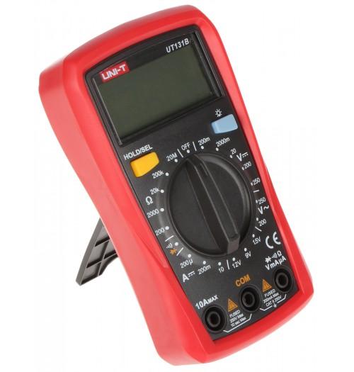 Multimetras UNI-T UT131B (su tęstinumo tikrinimo, baterijų tikrinimo funkcijomis)