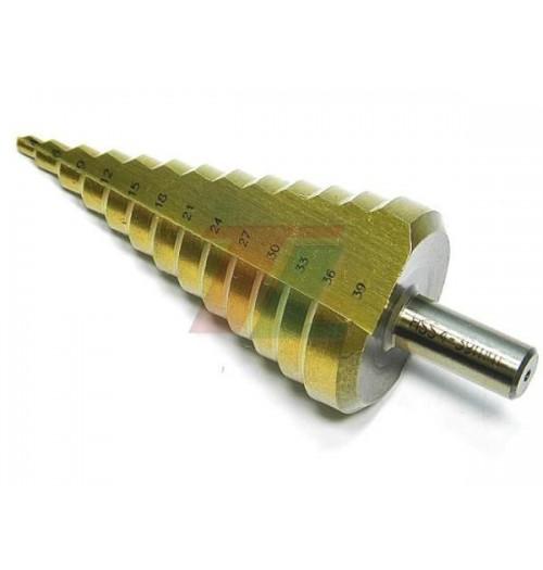 Pakopinis grąžtas 4-39 mm