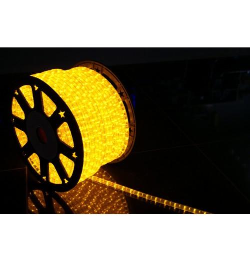 LED šviečiantis kabelis NK1 36LED/m geltonos spalvos