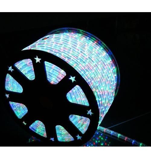 LED šviečiantis kabelis NK1 36LED/m įvairiaspalvis (RGB)