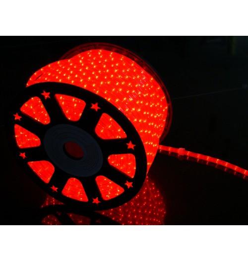 LED šviečiantis kabelis NK1 36LED/m raudonos spalvos