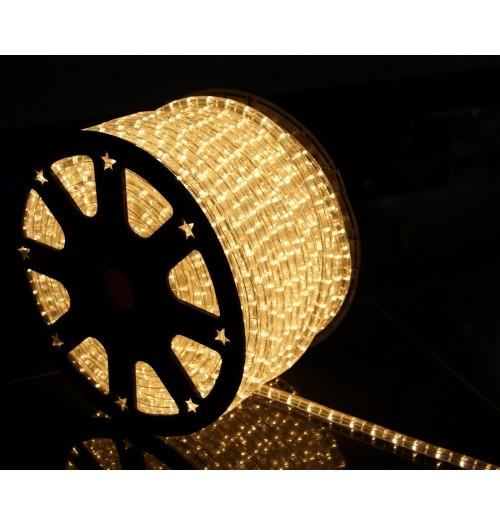 LED šviečiantis kabelis NK1 36LED/m šiltai baltos spalvos