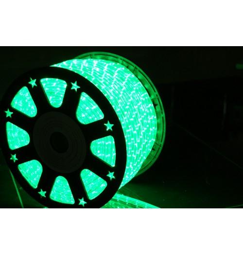 LED šviečiantis kabelis NK1 36LED/m žalios spalvos