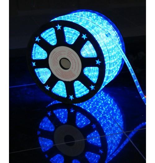 LED šviečiantis kabelis NK1 36LED/m žydros spalvos