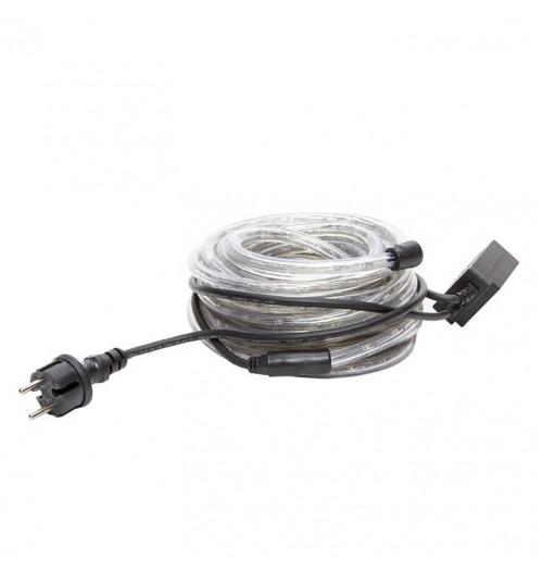 LED šviečiančio kabelio ir valdiklio rinkinys 36LED/m RGB 10 m