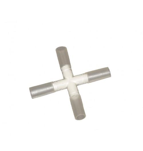 """LED šviečiančio kabelio priedas - surenkama """"X"""" jungtis (NK1, NK2)"""