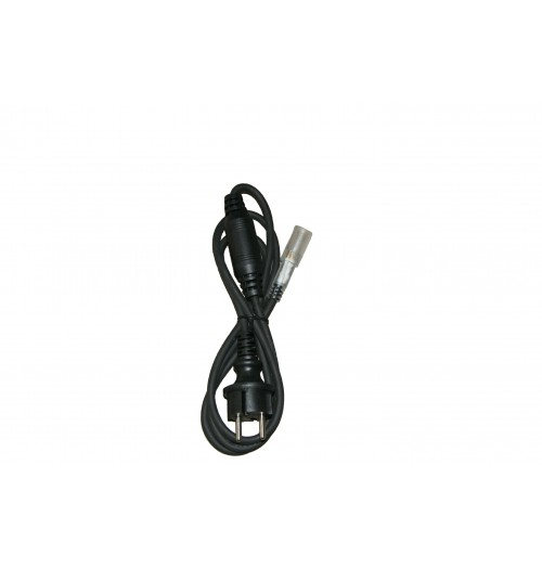LED šviečiančio kabelio priedas - juodas guminis pajungimo kabelis (NK1, NK2)