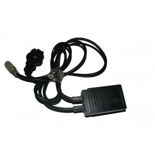LED šviečiančio kabelio priedas - pajungimo kabelio ir valdiklio komplektas (NK1, NK2)