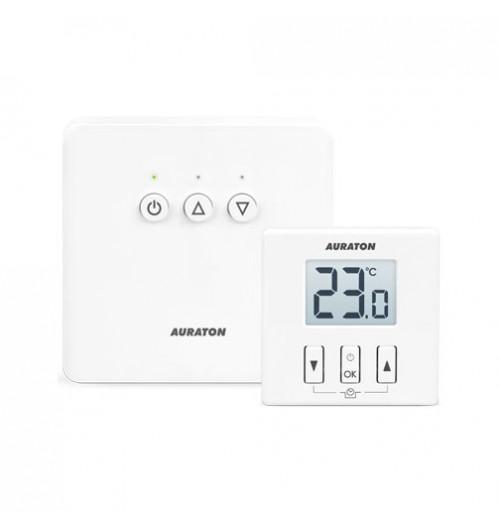 Neprogramuojamas belaidis termostatas su vietiniu pareguliavimu Auraton 200RT