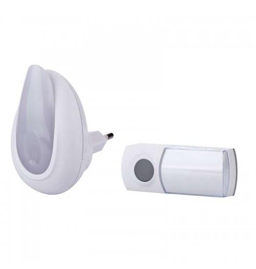 Belaidis skambutis su naktine lempute EMOS P5725