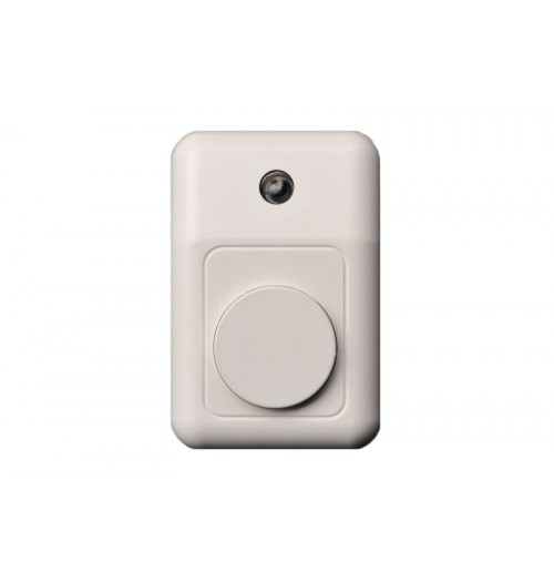 Skambučio mygtukas ESJ-002B baltos sp. su pašvietimu
