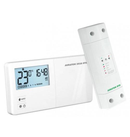 Programuojamas belaidis savaitinis termostatas Auraton 2030RTH