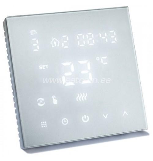Programuojamas savaitinis termostatas Heber HT-126 baltos sp.