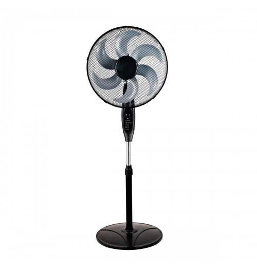 Pastatomas ventiliatorius Kanlux VENETO 45RC-B su nuotolinio valdymo pulteliu