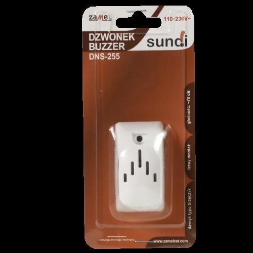 Elektromechaninis skambutis DNS-255 BUZZER 110-230V AC