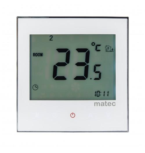 Programuojamas savaitinis termostatas Zamel RTD-02 baltos sp.