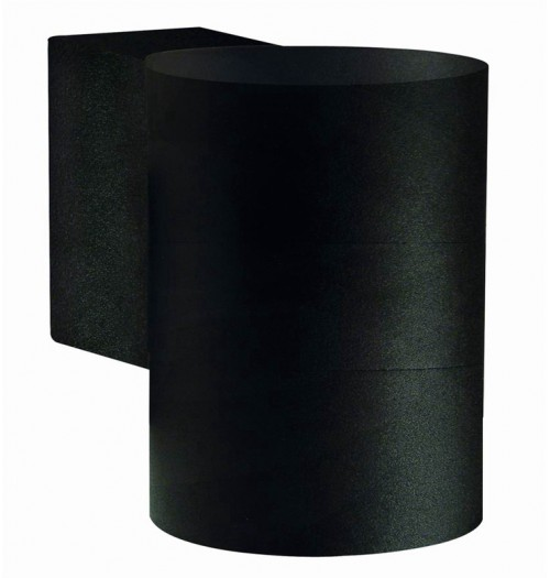Sodo šviestuvas Domoletti kryptinis 1xGU10 IP44 juodos sp.