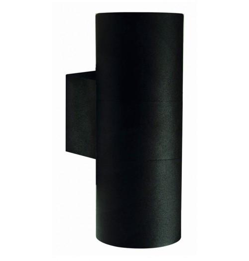 Sodo šviestuvas Domoletti kryptinis 2xGU10 IP44 juodos sp.
