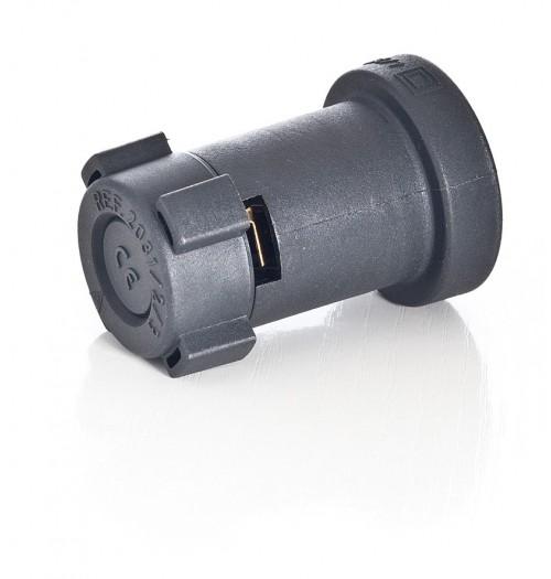 Lempos lizdas girliandoms (naudojimui su plokščiu kabeliu) E27 Famatel