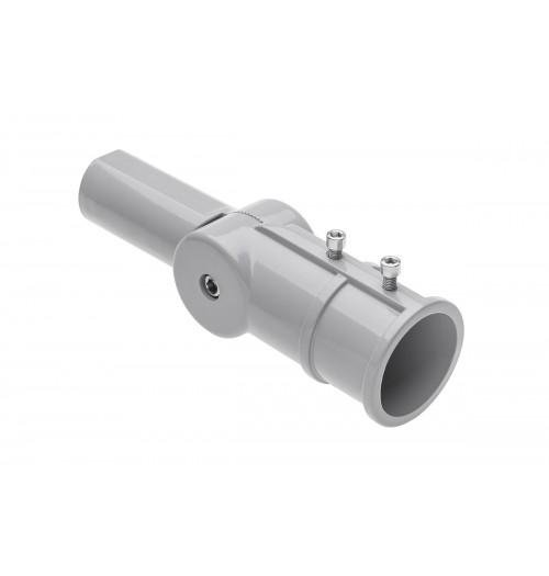 Reguliuojamo kampo adapteris gatvės šviestuvams GTV SA1 (50mm šviestuvo tvirt.)