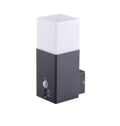 Sodo šviestuvas Kanlux VADRA 21L-UP SE 1xE27 + PIR
