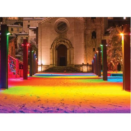 Prožektorius RGB LEDLINE PHOTON 50W IP65 (valdomas Bluetooth)