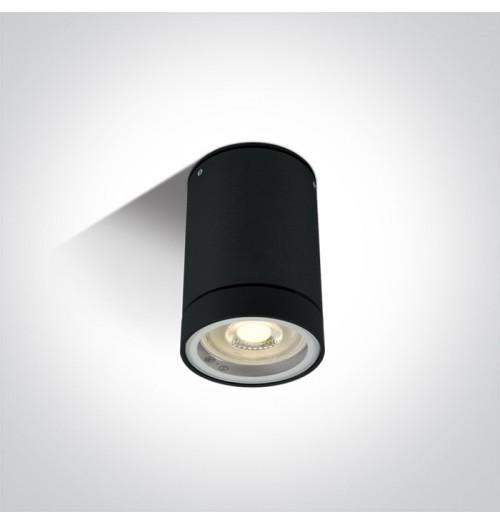 Lubinis akcentinis šviestuvas Onelight 67130C/B 1xGU10, juodas