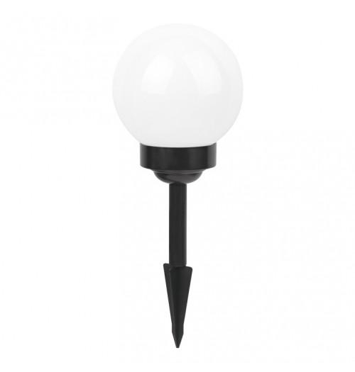 Saulės energija pakraunamas šviestuvas TH033B 0.06W LED (100 mm kupolas)