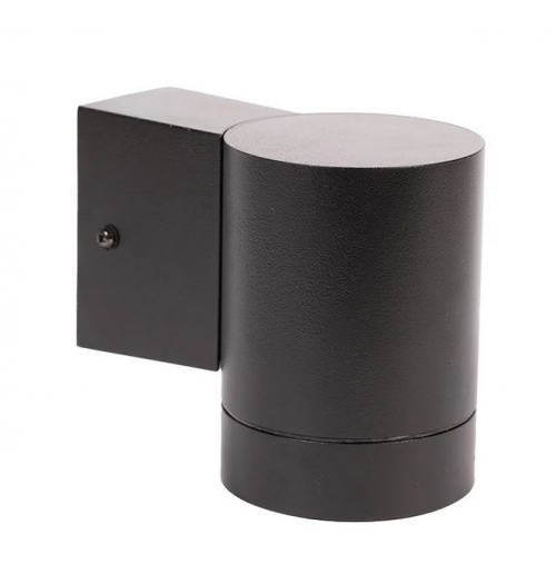 Sodo šviestuvas Domoletti 1xGU10 IP44 juodos sp.