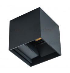 Sodo šviestuvas Kanlux REKA 1x7W 4000K LED IP54, kvadratinis, antracito sp.