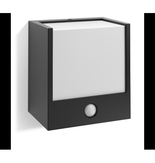 Sodo šviestuvas su judesio davikliu Philips Macaw LED 3.5W 3000K 320lm juodas