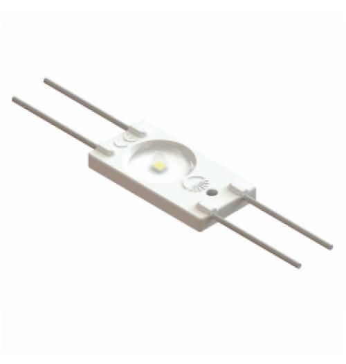 LED modulis AKTO WO 12V 1.44W 6500K 160° (su lęšiu)