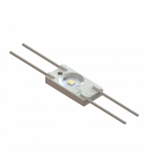 LED modulis AKTO WO11 12V 0.36W 6500K 160° (su lęšiu)