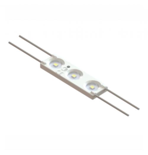 LED modulis AKTO WO33 12V 0.72W 6500K 160° (su lęšiu)