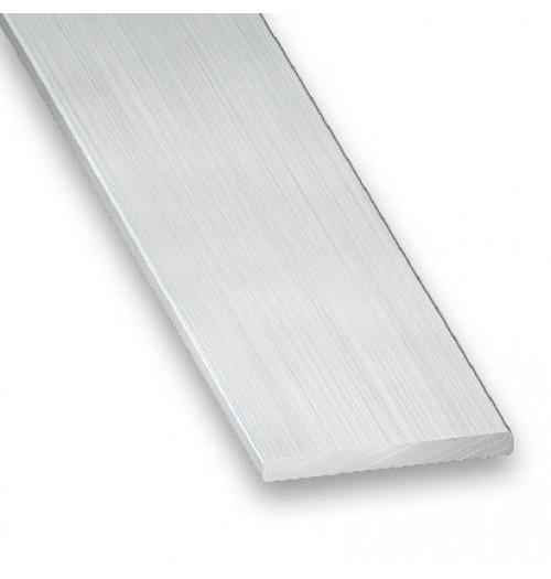 Aliuminio juosta LED juostų aušinimui 2x10mm, 1 m