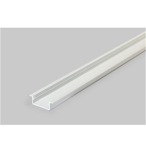 Profilis LED juostoms įleidžiamas VARIO30-06 baltas, 1 m