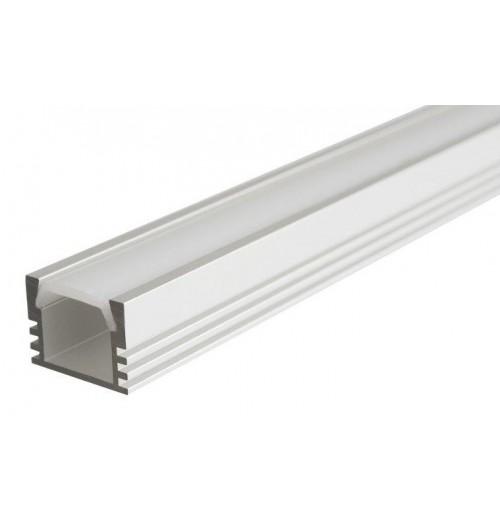 Profilis LED juostoms anoduotas SR12, 1 m