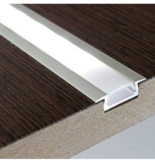 Profilis LED juostoms anoduotas SR22, 1 m