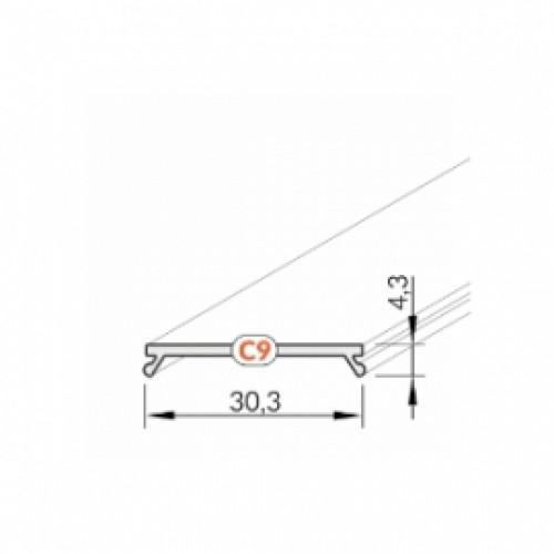 C9 matinis dangtelis, 2 m